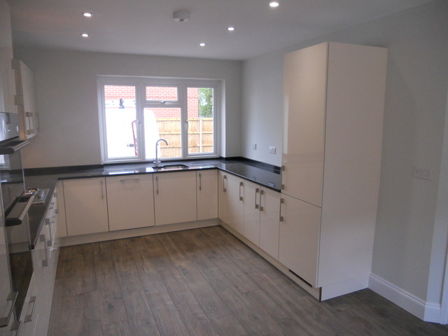 German Kitchen Utility Room With Granite Worktops