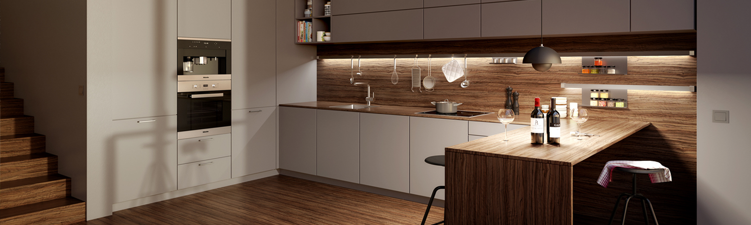 high quality kitchen</br> and bathroom designs